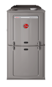 Rheem Gas Furnaces – Prestige Series Variable Speed Upflow / Horizontal (R802V)